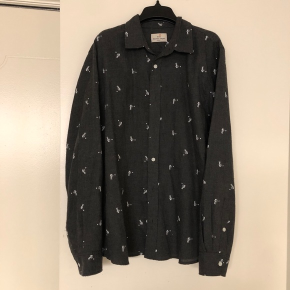 Marine Layer Other - Marine Layer Men's Grey button down size larger